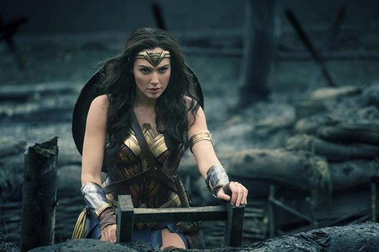 La historia de la Mujer Maravilla es protagonizada por la actriz Gal Gadot. (Foto Prensa Libre: AP)