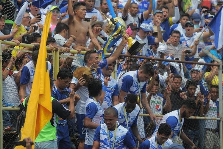 Suchitepéquez logró ser el mejor equipo guatemalteco durante el 2016 (Foto Prensa Libre: Hemeroteca PL)