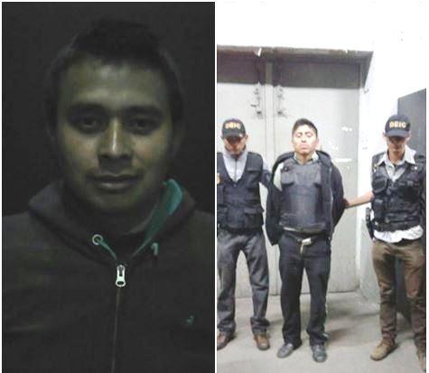 Dos hombres fueron detenidos acusados de cometer el delito de violación. (Foto Prensa Libre: PNC)