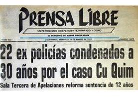 Titular del 18/08/1993. (Foto: Hemeroteca PL)