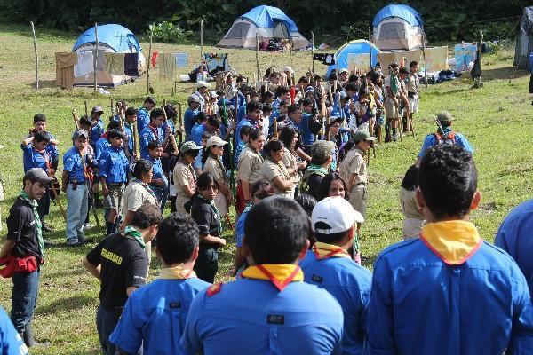 carepas se celebra en el sitio conocido como campamento Kumbayá, en Cobán.