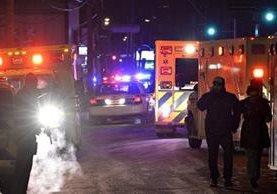Servicios de emergencia se movilizan al lugar del ataque. (Foto: Internet)