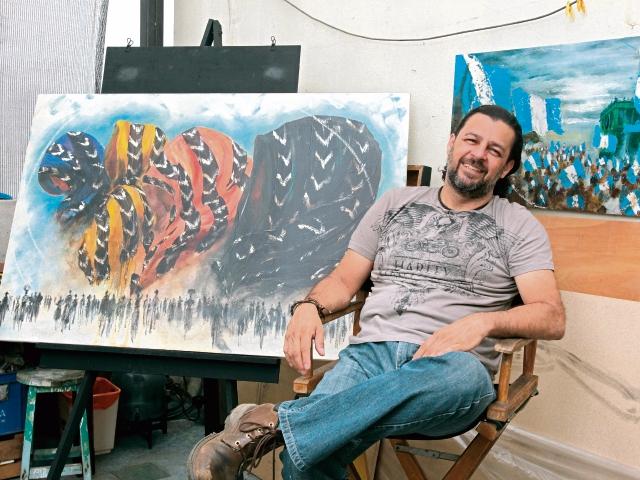 El guatemalteco Mendel Samayoa expondrá piezas que resumen su trayectoria en el arte plástico.
