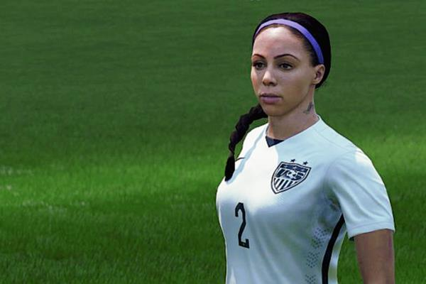 La empresa Electronics Arts y FIFA incluyen al futbol femenino en el nuevo video juego FIFA 2016. (Foto Prensa Libre: Facebook Ea Esports FIFA)