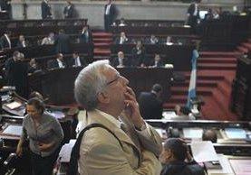 Oliverio García Rodas sería el próximo presidente del Congreso en una planilla multipartidaria. (Foto Prensa Libre: Hemeroteca PL)
