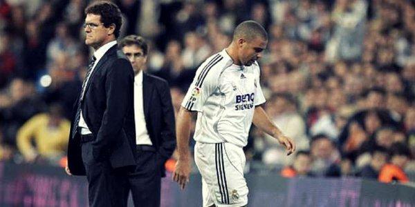 """Ronaldo Luiz Nazario respondió a las críticas del técnico Fabio Capello, quien lo habría llamado """"líder negativo"""". (Foto Prensa Libre: Twitter)."""