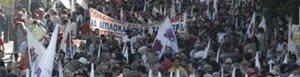 Huelga en Grecia.