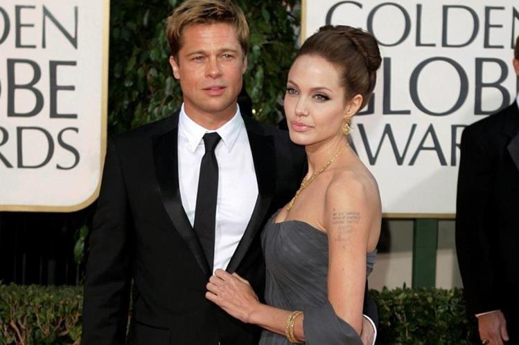 Pitt y Jolie solicitaron el divorcio en septiembre último. (Foto Prensa Libre: AP)