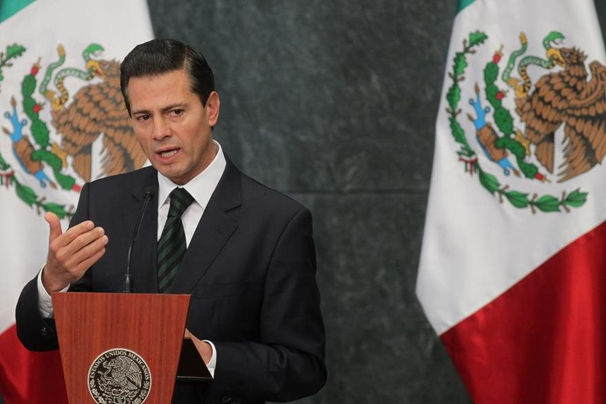 El presidente mexicano, Enrique Peña Nieto,  se reunirá con Trump el 31 de enero próximo. (Foto Prensa Libre: EFE).