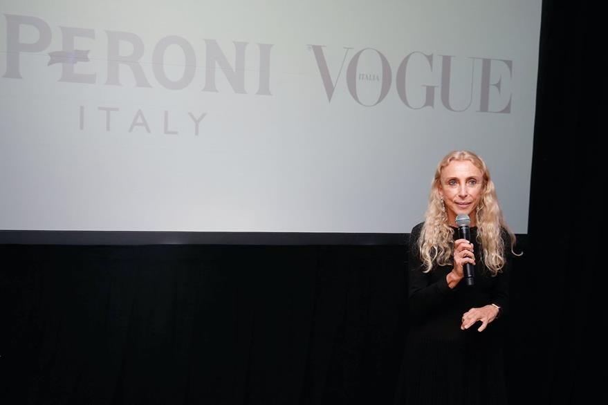 Franca Sozzani, editora de Vogue Italia. (Foto Prensa Libre: AFP)