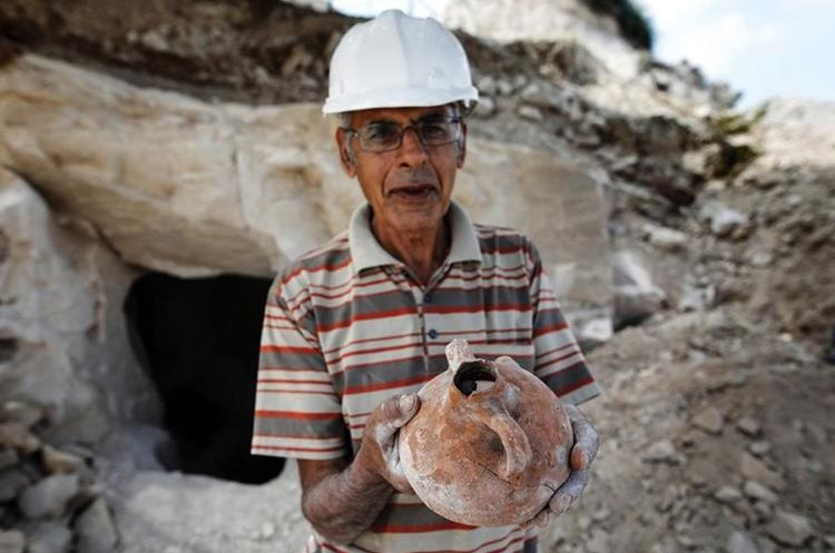 Arqueólogos israelíes hallan vasijas de la época de Jesús