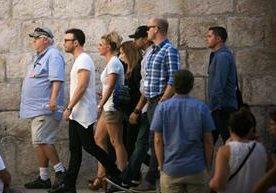Britney Spears visitó el Muro de las Lamentaciones en Jerulasén.