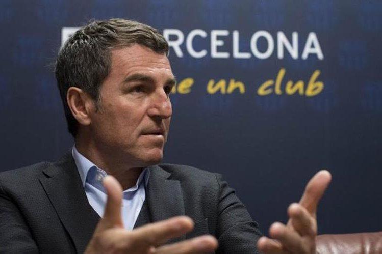 Robert Fernández, secretario técnico del FC Barcelona, habló de los fichajes del equipo catalán. (Foto Prensa Libre: Hemeroteca)