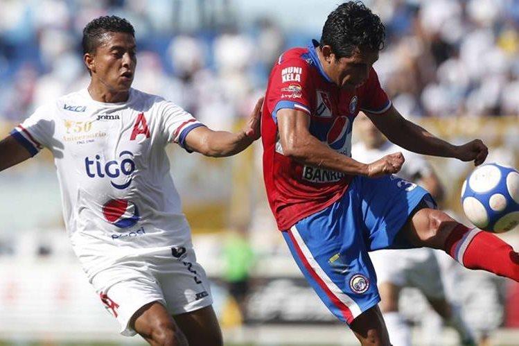 El plantel quetzalteco se enfrentó al Alianza sin poder marcar. Xela se alista para el torneo local. (Foto Prensa Libre: Prensa Gráfica).