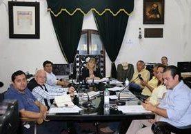 Consejo Municipal de Antigua Guatemala, Sacatepéquez.(Foto Prensa Libre:Julio Sicán)