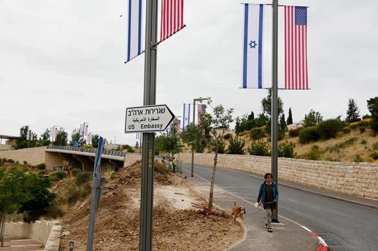 Estados Unidos inaugura formalmente su embajada en Jerusalén