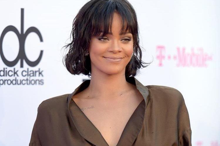 Rihanna actuará en la gala de los premios de MTV. (Foto Prensa Libre: AP)