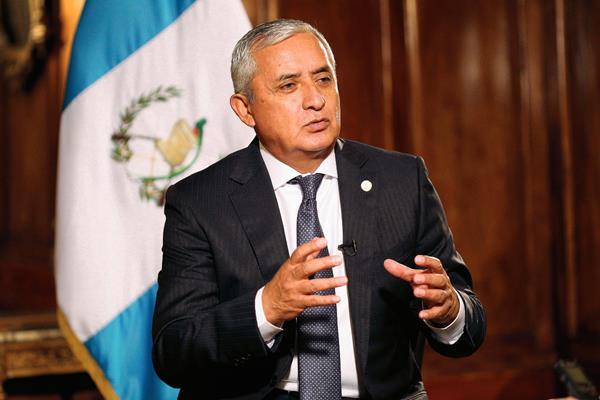 El presidente Otto Pérez Molina, informa que asistirá a la cumbre de las Américas, en Panamá. (Foto Prensa Libre: Hemeroteca PL).