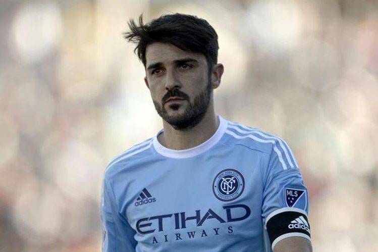 El ahora jugador de la MLS, David Villa espera dedicarse al retiro como entrenador y formador de jugadores. (Foto Prensa Libre: Hemeroteca PL)