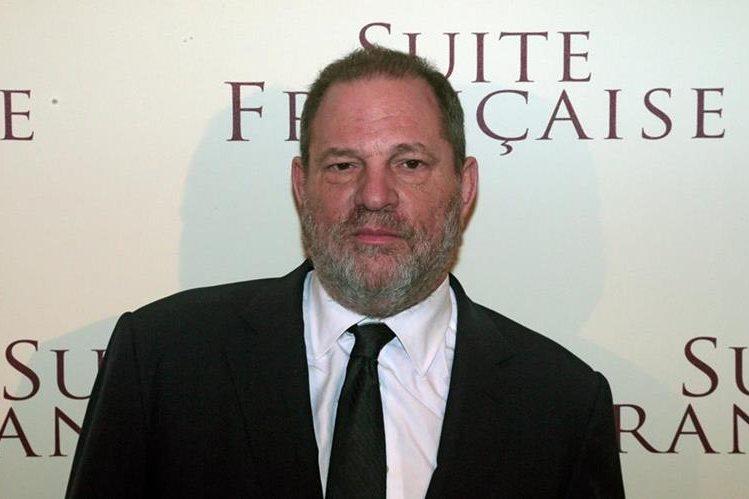 Harvey Weinstein durante el estreno de la película French Suite. El magnate del cine ha sido acusado por acoso sexual. (Foto Prensa Libre: AFP).
