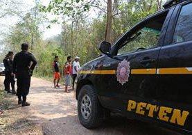 Pobladores del área central de Petén exigen más seguridad. (Foto Prensa Libre: Rigoberto Escobar)