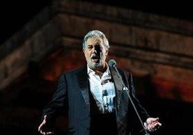 Plácido Domingo regresa a los escenarios. (Foto Prensa Libre: AFP)