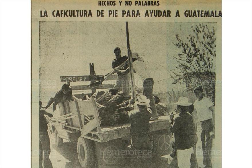 Anuncio de marzo de 1976 invita a la reconstrucción. (Foto: Hemeroteca PL)