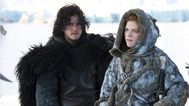 Jon Snow e Ygritte fueron pareja en la segunda temporada de Games of Thrones. (HBO/SKY)