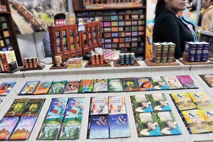 La Feria del Libro este año ofrece un sin fin de textos para todos los gustos. (Foto Prensa Libre ).