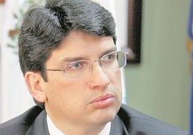 Rubén Morales fue ministro de Economía durante 16 meses. (Foto Prensa Libre: Hemeroteca PL)
