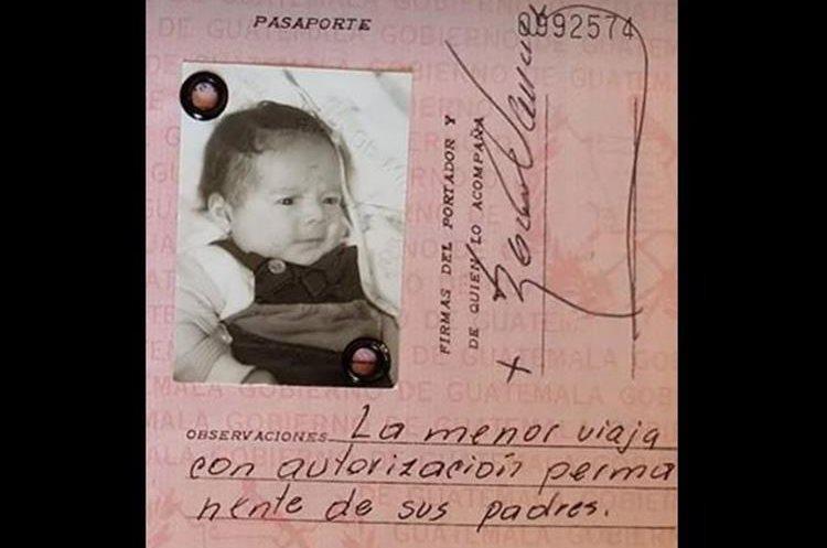 Solo tenía tres meses de nacida cuando Magnée fue llevada a Bélgica. (Foto Prensa Libre: Delphine Magnée)