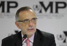 El comisionado de la Cicig, Iván Velásquez, dirige la entidad desde el 2013.