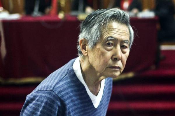 Albarto Fujimori, expresidente de Perú.