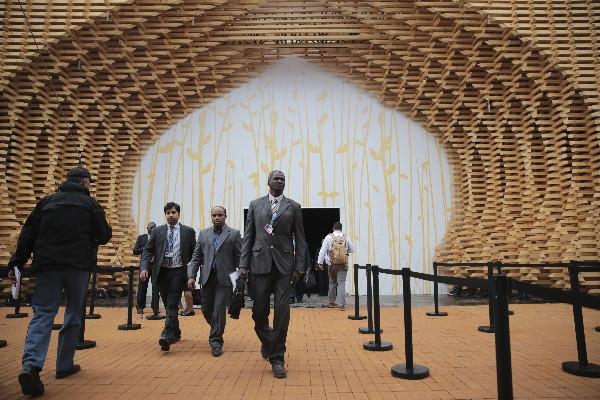 Delegados asisten a la la conferencia de la ONU sobre el cambio climático. (AFP).