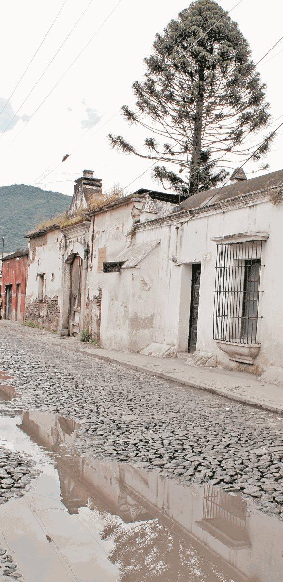 Fachada de la Casa de la Pólvora, cerca del monumento a Landívar. (Foto: Hemeroteca PL)