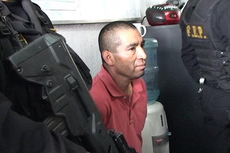 José Pérez Chen fue hallado culpable de haber dado muerte a un policía. (Foto Prensa Libre: Héctor Cordero).