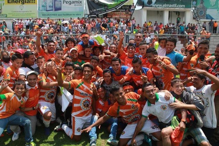 San Pedro volvió a la Primera División después de un descenso a la Segunda en la temporada anterior. (Foto Prensa Libre: Hemeroteca)