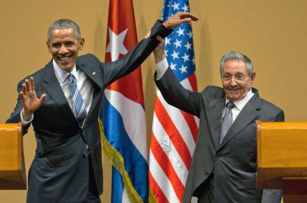 Obama fue el primer mandatario estadounidense en visitar Cuba en 88 años. (AP).