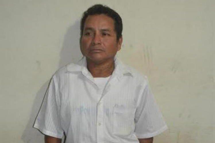 Byron Estuardo Jacinto Méndez, es sindicado de haber abusado de su hija. (Foto Prensa Libre: Enrique Paredes).
