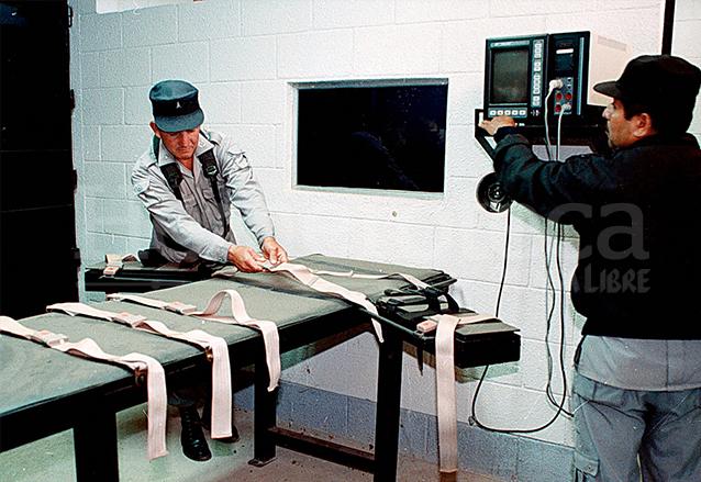 Módulo para aplicación de la inyección letal construido en 1997 y utilizado dos veces. (Foto: Hemeroteca PL)