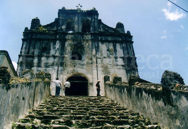 La Iglesia de Lanquín, Alta Verapaz es de estilo Barroco.  (Foto: Hemeroteca PL)