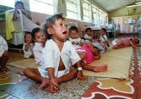 Uno de los impactos de la desnutrición es la baja talla en los niños. (Hemeroteca PL)
