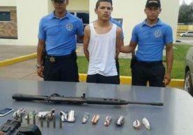 Heriberto Godoy fue capturado este martes. (Foto: www.laprensa.hn).