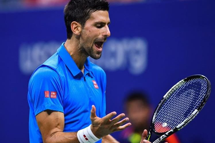 Djokovic se medirá contra Monflis en semifinales. (Foto Prensa Libre: AFP)