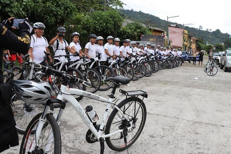 El curso tiene una duración de 6 días y se espera que culmine el sábado próximo. (Foto Prensa Libre: Renato Melgar)