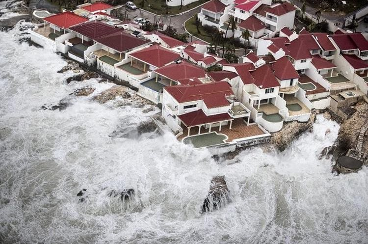 Varios lugares han quedado desolados debido a que las personas han migrado hacia tierras lejanas a las costas.