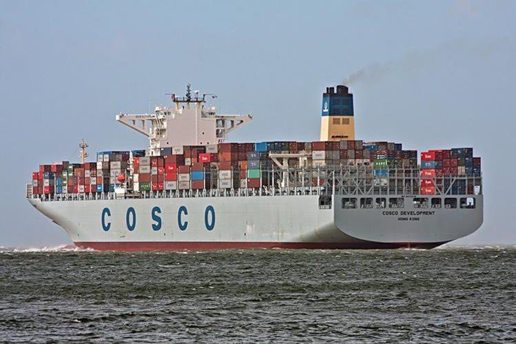 Canal ampliado recibe al buque más grande a la fecha