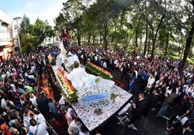 Procesión de la Patrona de la Ciudad de Guatemala salió a las siete de la mañana.
