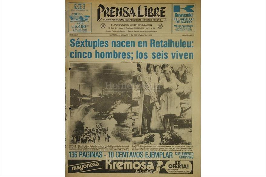 Portada del 22 de septiembre de 1978. (Foto: Hemeroteca PL)