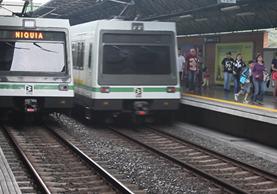 Medellín cuenta con un sistema de Metro que conecta varias ciudades de Colombia. (Foto Prensa Libre: Josué León)